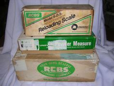 Lot of RCBS Reloading Equipment Junior Press Scales Powder Measure Dies Manuels #RCBS