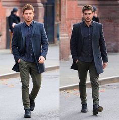 Every man should basically just dress and look like Zac Efron...  #enoughsaid