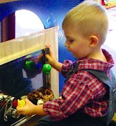 """Hold Everything! This PDF guide provides you with twenty """"Stay-Put"""" play spaces for infants, preschoolers and developmentally young children with sensory impairments and other special needs. *pinned by wonderbaby.org"""