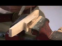 Making a wooden cleat