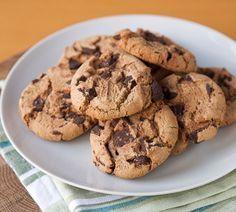 עוגיות שוקולד צ'יפס פרווה על בסיס שמן ( צילום: shutterstock )