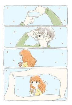 ♥Kawaii Anime♥ ~So cute *-* Anime Art Girl, Manga Art, Manga Anime, Anime Love Couple, Cute Anime Couples, Style Anime, Poses References, Arte Sketchbook, Photocollage