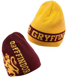 d3410be7f75 elope Harry Potter Hogwarts House Reversible Knit Beanie