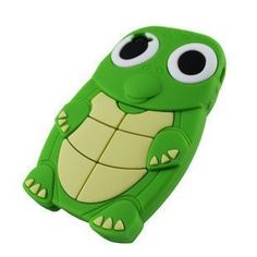 Cute Turtle Animal Silicone Case for Iphone 4 and ($0.28)