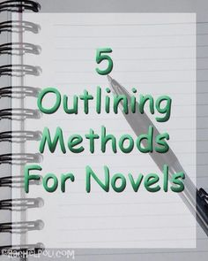 Everyone takes a different approach to outlining. It can be daunting to some while others look forward to the process. Here are 5 outlining methods. Writing Genres, Memoir Writing, Book Writing Tips, Writing Lessons, Writing Quotes, Fiction Writing, Writing Skills, Writing Prompts, Writing Ideas