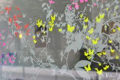 École des fleuristes de Paris - Vitrophanie - Le Prédeau