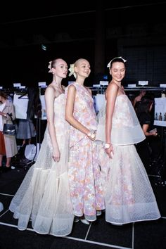 Backstage at Maticevski MBFWA day 3 | Fashion Journal