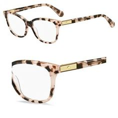 dd0d9c911b Eyeglasses Kate Spade Jorja 0HT8 Pink Havana at Amazon Men s Clothing store