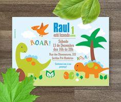 Dinossauros - Festa para Imprimir