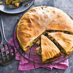 Recept - Kip-pie met prei en emmentaler - Allerhande