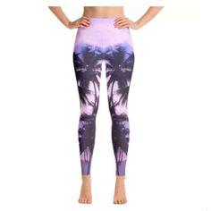 A personal favorite from my Etsy shop https://www.etsy.com/listing/513646865/sri-lanka-palm-tree-yoga-leggings-palm