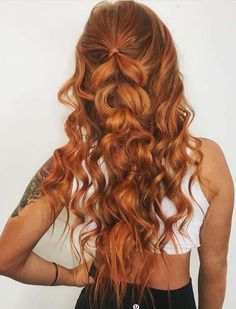 42 Unique Half Up Half Down Braided Hairstyles with Curls in 2018. Inspiring ideas of half up half down braided and wedding hairstyles with amazing and soft curls to show off in year 2018. Like all other essential things that brides have to arrange on their big day, hairstyles are also considered an important part of beauty and charm. So, you can see here the best half up braids 2018.