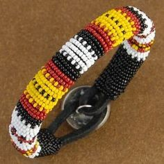 Native American Bead Patterns including native american seed bead bracelet, native american beaded handbag, native american finger weaving book and mirrix loom review along with videos on easy loom bracelets, how to bead on a loom - removal and closeup beading on a loom.