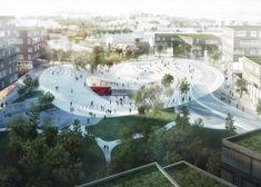 Henning Larsen Architects to design train station for Vinge