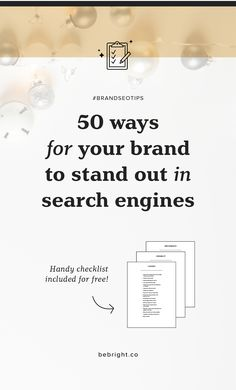Standing out online is harder than ever, here are 50 easy and actionable ways your blog can stand out above the rest in your competition.