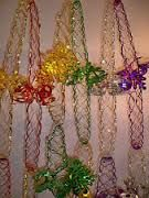 80's christmas ceiling decorations - Google Search...the pin says these are from the 80's (and I am not saying they aren't ) but my dual citizen  (British /American) grandma always decorates with these. To me it's all part of  the  tradition.