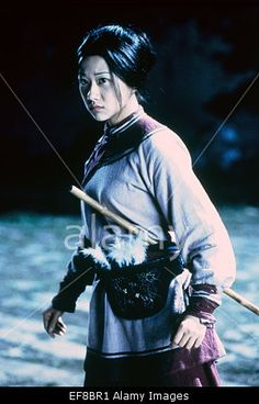 ZHANG ZIYI CROUCHING TIGER HIDDEN DRAGON (2000) Stock Photo