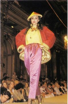 1977-78 - YSL Chinese collection