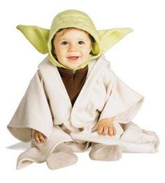 Baby Yoda costume  http://barnaclebill.hubpages.com/hub/babyhalloweencostumes