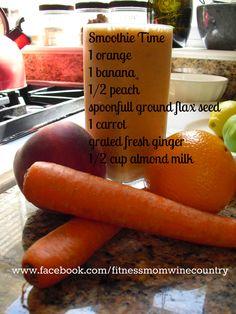 Orange drink #healthy #drinks #smoothies