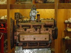 1948 Tucker Engine with Towing Power