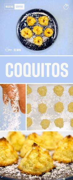 Coquitos caseros para comer en cualquier momento! Chocolate Coquito Recipe, Baby Food Recipes, Dessert Recipes, Sin Gluten, Creative Food, Clean Eating Snacks, Catering, Vegetarian Recipes, Food Porn