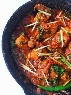 Chicken Karahi Recipe Pakistani, Malay Food, Chicken Masala, Indian Food Recipes, Ethnic Recipes, Masala Recipe, Recipe Steps, Indian Dishes, Curry Recipes