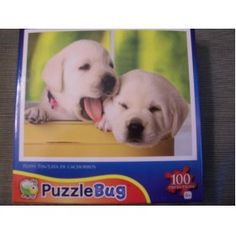 Puppy Tin Puzzle Bug 100 piece puzzle