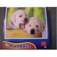 Puppy Tin Puzzle Bug 100 piece puzzle