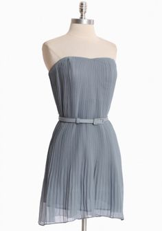 perfect pleated dress for a wedding