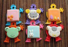 Easter Cookies by Katie's Something Sweet, via Flickr