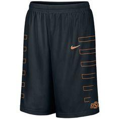 c42559b473797 Nike Oklahoma State Cowboys Black Replica Basketball Shorts