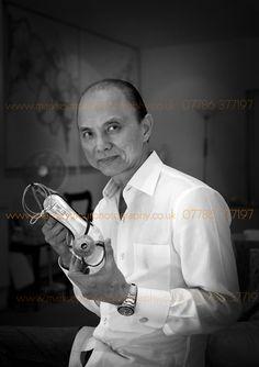 Jimmy Choo, Shoe Designer photograohed by Mark Seymour http://www.markseymourphotography.co.uk/