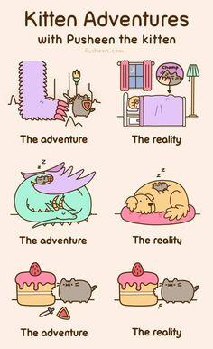 Kitten Adventures by Pusheen