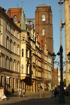 Kurzy Targ Street , Wroclaw, Poalnd