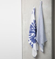 UNC - Tea Towel - Indigo - 50 x 70 cm, set of 2 - Dinnerware