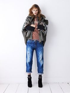 only the skilled can pull this off, but I want a big big jacket. Scotch & Soda
