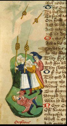 BL Harley 1766f. 76v. C. 1450-60. England.