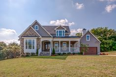 Photo gallery of stone creek - real estate listing by jessica & stone e Dream House Plans, My Dream Home, Brick House Plans, Dream Homes, Style At Home, Southern Living, Country Living, Bungalow, Stone Exterior Houses
