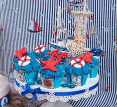 Sweet table stile nautico / nautical sweet table