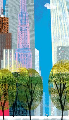 love this NYC graphic by TIM HOPGOOD... find him @timhopgood.com