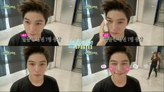 [CAPS] 140614 MBC Show Champion Backstage - #인피니트 Cutie pie Myungsoo ♡ pic.twitter.com/Daxj5kVJ4P