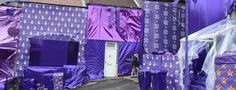 When cadbury gift wrapped a street for Christmas