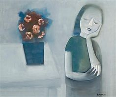Charles Blackman ~ Evening Light, 1963