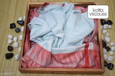 Sarees Contemporary Kota Viscose Silk Printed Saree  *Fabric* Saree - viscose silk, Blouse - viscose silk  *Size* Saree - 5.50 Mtr, Blouse - 1.00 Mtr  *Work* Printed  *Sizes Available* Free Size *   Catalog Rating: ★4.1 (250)  Catalog Name: Attractive Pretty Kota Viscose Silk Printed Sarees CatalogID_133607 C74-SC1004 Code: 195-1089227-