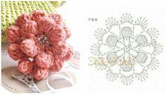 Magia szydełka- inspiracje,ściegi i wzory dla każdego. Crochet Diagram, Crochet Chart, Crochet Motif, Crochet Stitches, Crochet Bookmarks, Crochet Ornaments, Diy Crafts Crochet, Crochet Projects, Crochet Flower Patterns
