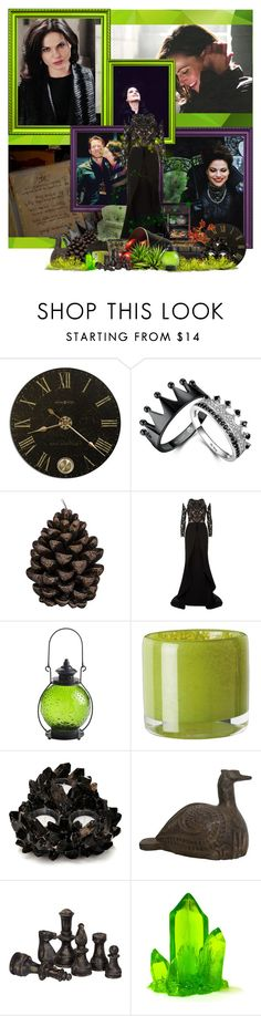 """OUAD: Regina Mills/Evil Queen"" by rockmilan ❤ liked on Polyvore featuring WALL, Grandin Road, Broste Copenhagen, Mikael D, Pier 1 Imports, OKA, McCoy Design and Pieces"