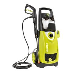 Fighting dirt and grime around your home will be a thing of the past with the Sun Joe 2030 PSI Electric Pressure Washer. This powerful machine generates amps of pure cleaning power. It's perfect for removing tar, mildew stains, mud, rust, and more. Lawn Equipment, Outdoor Power Equipment, Cleaning Equipment, Home Depot, Best Pressure Washer, Pressure Washers, Mildew Stains, Oil Stains, Mike Wazowski