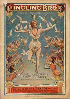 Circus. Vintage Posters. – Google+