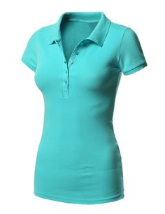 Aqua Polo T Shirt for women, Fabric can be available in 100% Cotton, CVC, TC, Polyester, Bamboo, Silk. In Any color or pattern Logo: Silk screen printing, heat transfer, sublimation, embroidery and 3D Printing Price: 3-20$ US FOB